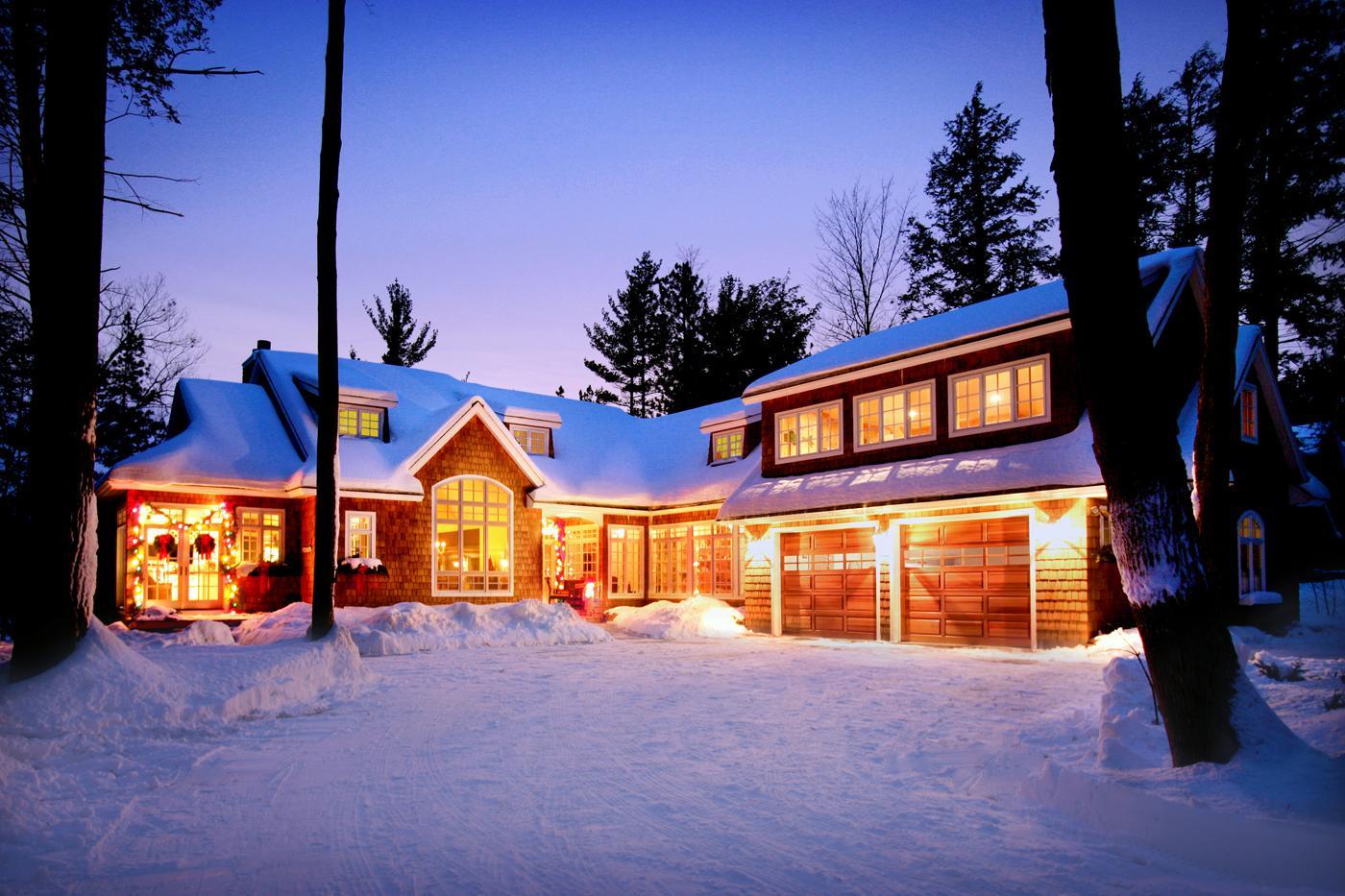 Custom Home in Michigan's Winter Wonderland - Butcher
